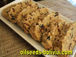 bread with chia seeds